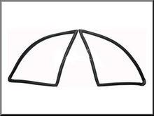 Rubbers driehoek ruitjes.