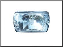Verstraler: reflector met glas R16 TS.