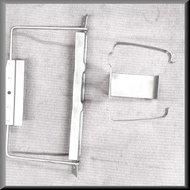 Accu houder en ruiten vloeistof reservoir houder R16 TS-TL
