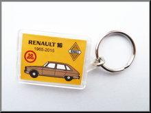 Sleutelhanger Renault 16 50 jaar (bruin).